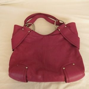 Kooba Women's Hobo Handbag Large Leather Pink